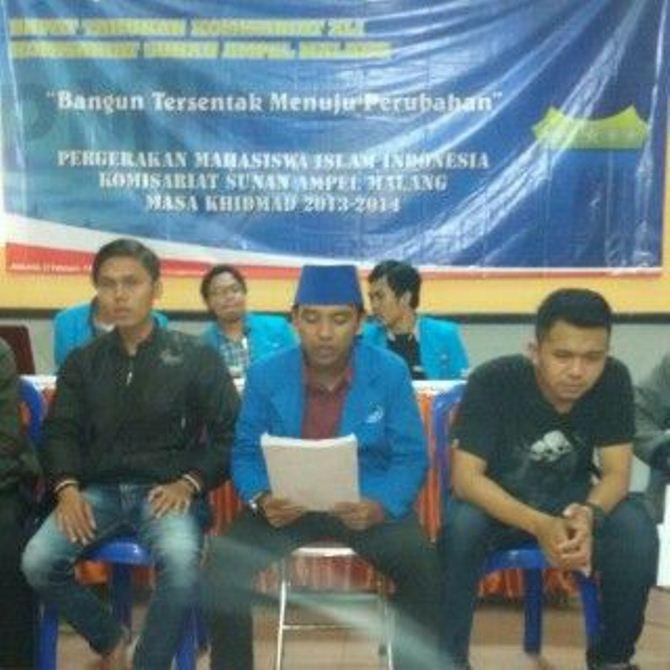 RTK XLI PMII Sunan Ampel Malang
