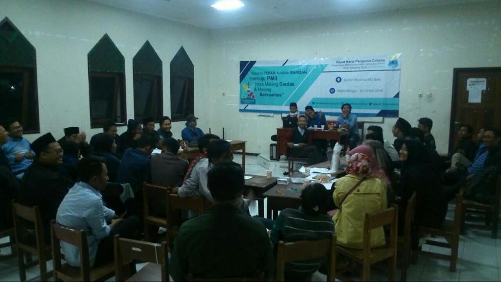 Rakercab XLIII PC PMII Kota Malang di Ponpes Al-Hidayah, Batu