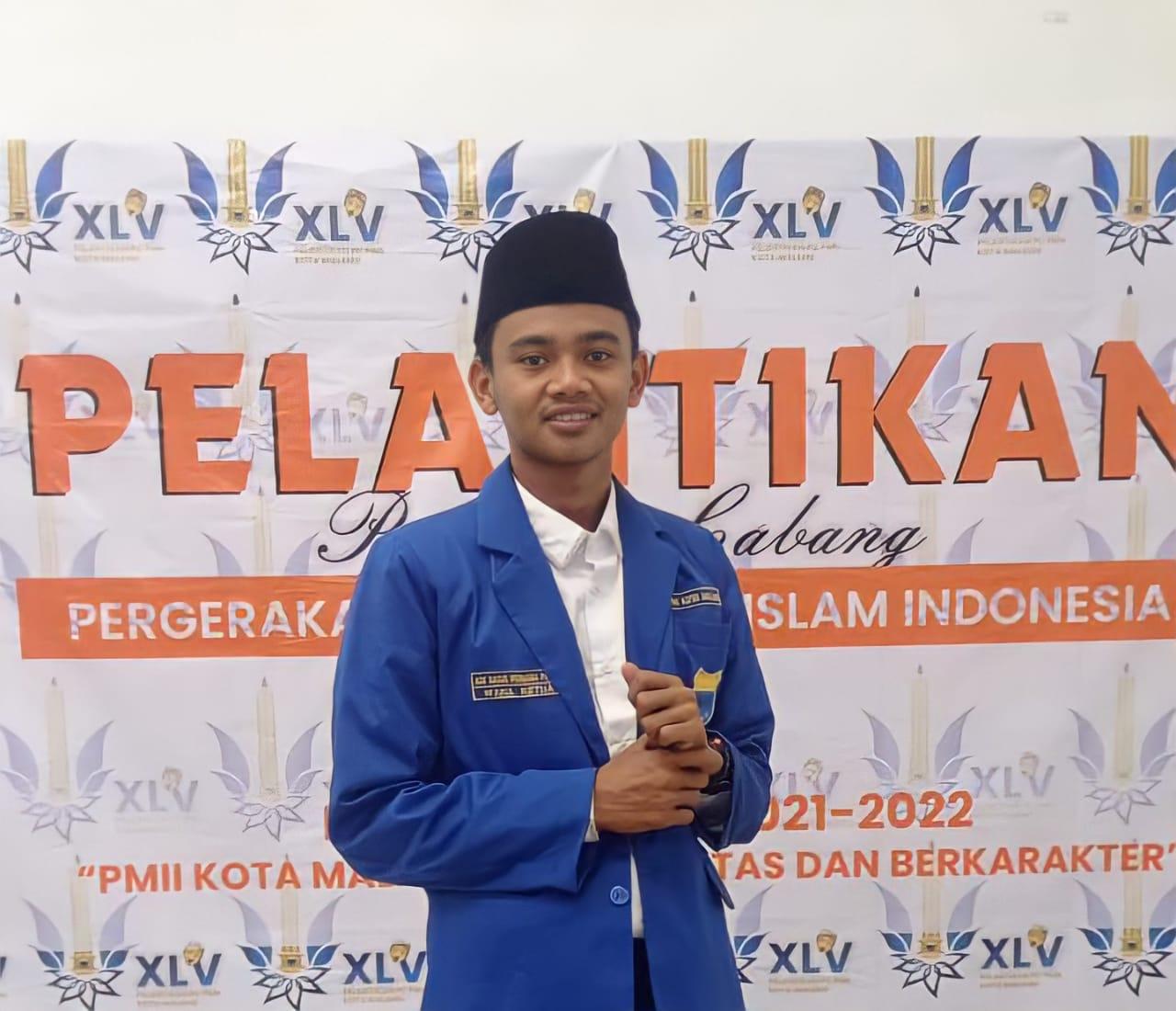 Waka III PMII Kota Malang, Ade Bagus Permana Putra